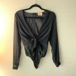 SHOPO black bodysuit